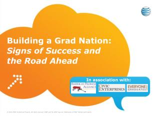 Building a Grad Nation:  Signs of Success and the Road Ahead