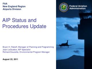 FAA  New England Region Airports Division