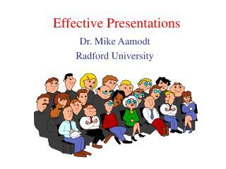 Effective Presentations
