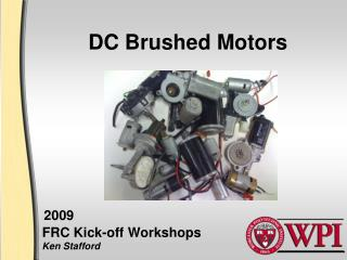 DC Brushed Motors