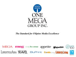 The Standard for Filipino Media Excellence