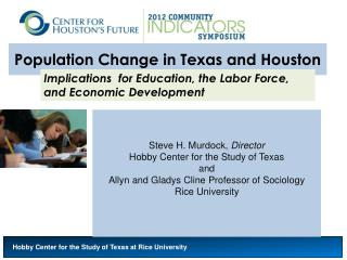 Population Change in Texas and Houston