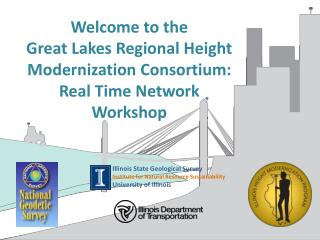 Welcome to the Great  Lakes Regional Height Modernization Consortium: Real Time  Network Workshop