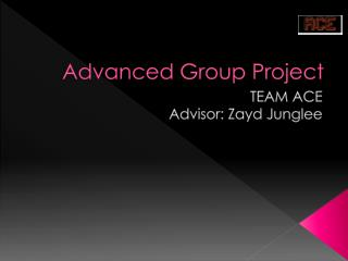 Advanced Group Project