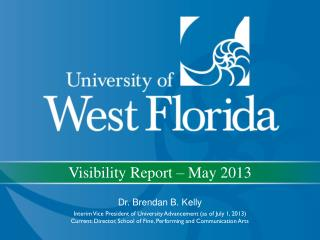 Visibility Report – May 2013
