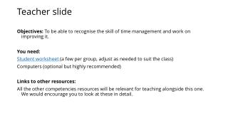 Teacher slide