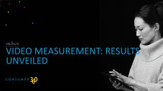 Video Measurement: results unveiled