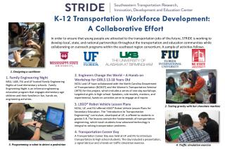 K-12 Transportation Workforce  Development: A Collaborative Effort