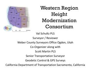 Western Region Height Modernization Consortium