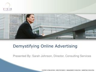 Demystifying Online Advertising