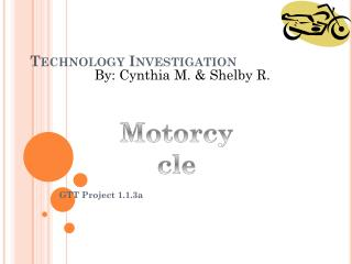 Technology Investigation