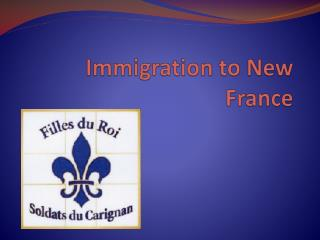 Immigration to New France
