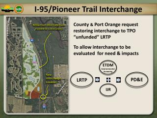 I-95/Pioneer Trail Interchange