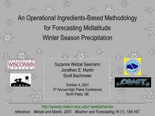 An Operational Ingredients-Based Methodology  for Forecasting Midlatitude