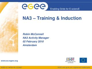 NA3 – Training & Induction