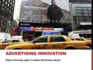 Advertising Innovation