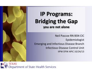 IP Programs :  Bridging  the  Gap y ou are not alone