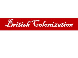 British Colonization