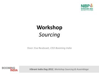 Workshop Sourcing