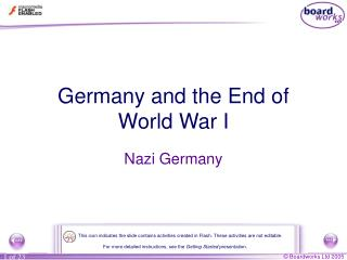 Germany and the End of World War I