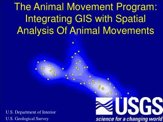 The Animal Movement Program: Integrating GIS with Spatial Analysis Of Animal Movements