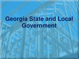 Georgia State and Local Government