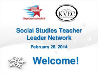 Social Studies Teacher Leader  Network