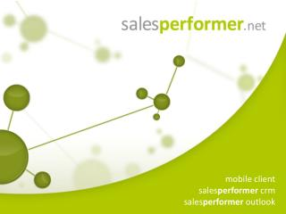 mobile client sales performer  crm sales performer  outlook