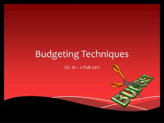 Budgeting Techniques