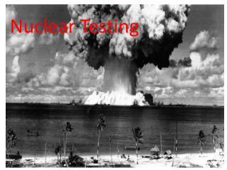Nuclear Testing