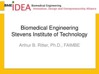 Biomedical Engineering Stevens Institute of Technology