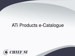 ATi  Products e-Catalogue