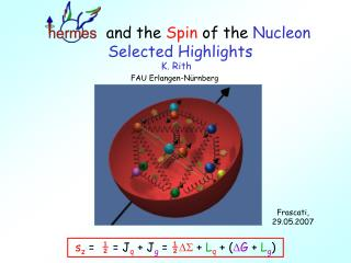 and the  Spin  of the  Nucleon     Selected Highlights