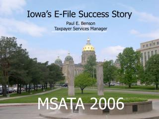 Iowa's E-File Success Story