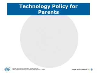 Technology Policy for Parents