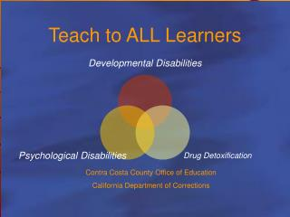 Teach to ALL Learners