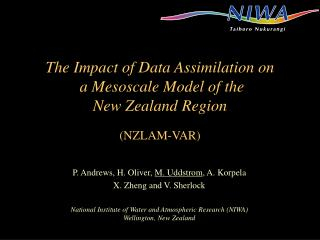 The Impact of Data Assimilation on  a Mesoscale Model of the  New Zealand Region (NZLAM-VAR)