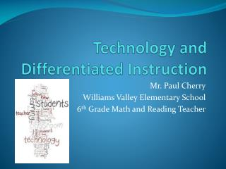 Technology and Differentiated Instruction