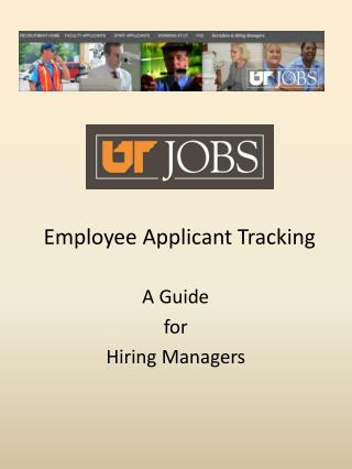 Employee Applicant Tracking
