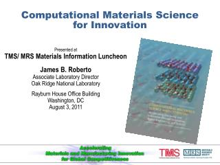 Computational Materials Science for Innovation