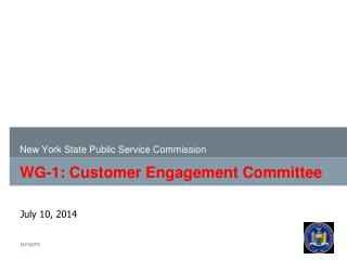 WG-1: Customer Engagement Committee