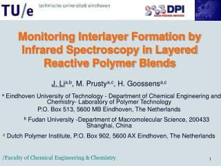 Monitoring Interlayer Formation by Infrared Spectroscopy in Layered Reactive Polymer Blends