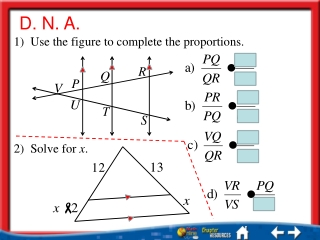4.3: Proportions and Similar Figures