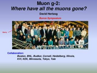 Muon g-2: Where have all the muons gone?