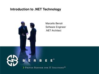 Introduction to .NET Technology