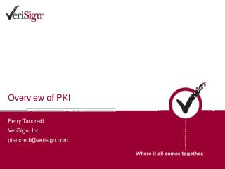 Overview of PKI