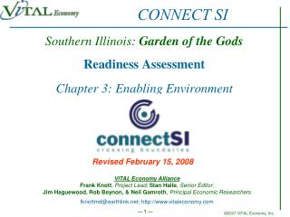 Southern Illinois:  Garden of the Gods Readiness Assessment Chapter 3: Enabling Environment