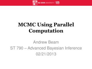 MCMC Using Parallel Computation