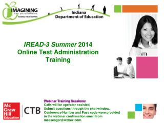 IREAD-3 Summer  2014  Online Test Administration Training