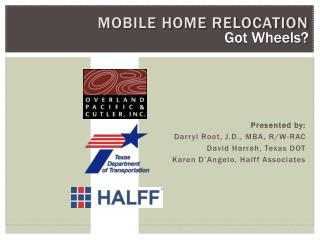 Mobile home relocation
